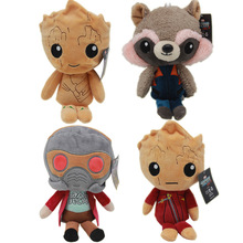 Custom Tree Man Stuffed Plush Toy,Guardians of the Galaxy soft PP cotton plush doll toy sets for kids