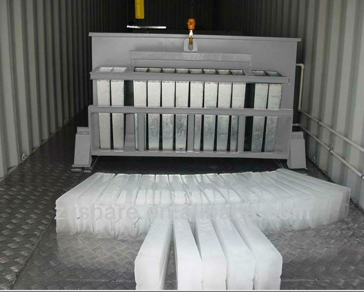 10T automatic containerized block ice plant, largest manufacturer in guangdong