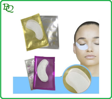 Woven farbic cotton White Anti-Puffiness Gel hydrogel eye gel patch