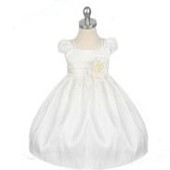 OEM Children Wedding dress White Tulle Flower Girl Dresses