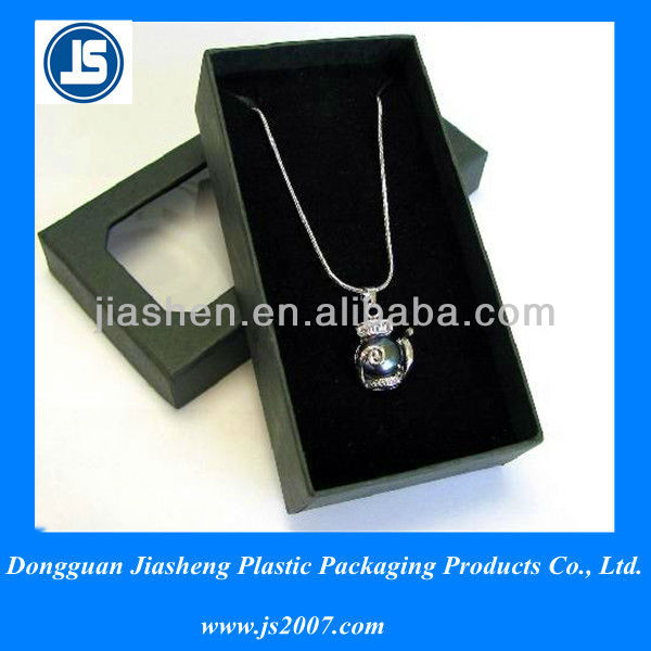 Clear customized clamshell blister packaging, jewelry packaging