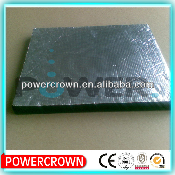 China rubber foam large corrugated plastic roofing sheets