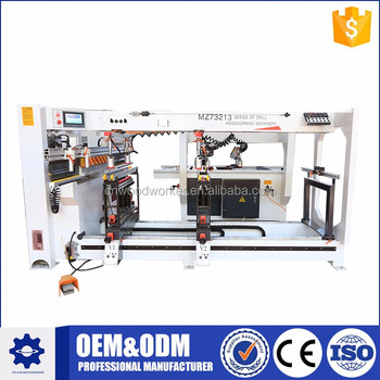 High quality carpenter multiple drilling machine for wood