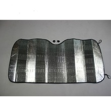 Silver Accordion Sunshade Car Windshield Sun Shade