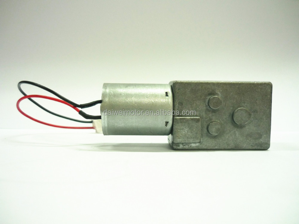 High Quality Mini Worm Gear Box with Micro DC 370 Motor From China JSX-370 Series