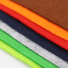 100% polyester felt fabric 3mm can be customized