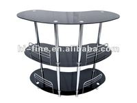 Modern glass bar table