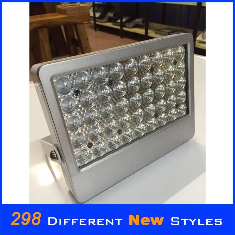 Toughened glass and aluminum alloy 60 led solar powered light good quality led outdoor flood lighting