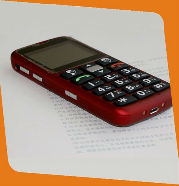 large keypad mobile phone for seniors