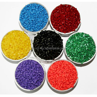 Food grade high-density plastic colorful masterbatch