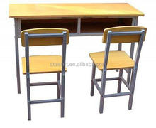 Professional design university adjustable height desk with drawers
