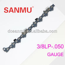"Hot sales new technology 3/8LP"" pitch saw chain for chainsaw SAE8660 material"