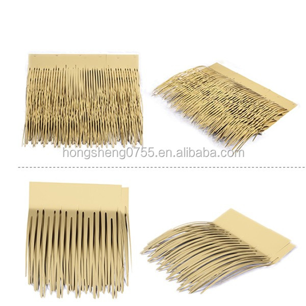 High Quality Aluminum Fireproof Artificial Synthetic Fake Thatch Roof