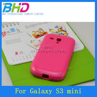 For Samsung Galaxy S3 Mini i8190 TPU Case, Candy Color, Jelly Style