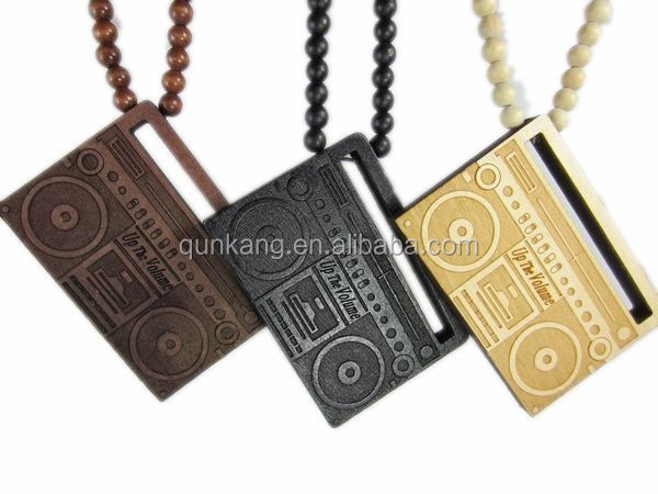 Wholesale China Fashion Wooden Chain Necklaces