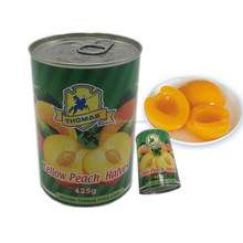 Canned Peach in Syrup, Canned Yellow Peach, Canned Peach Halves