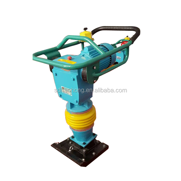 Big compaction force gasoline engine vibratory tamping rammer