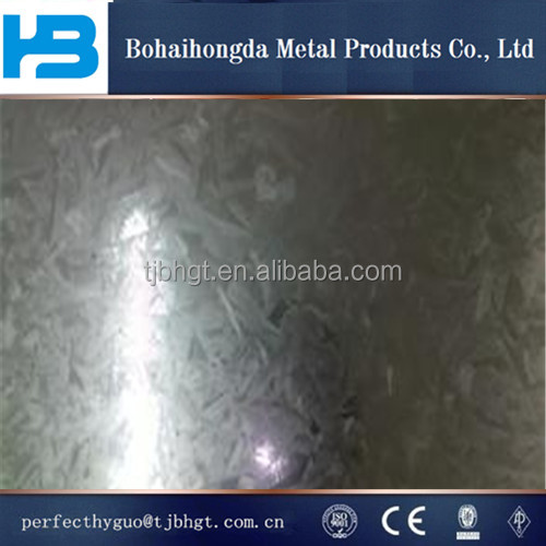 good density of galvanized steel sheet
