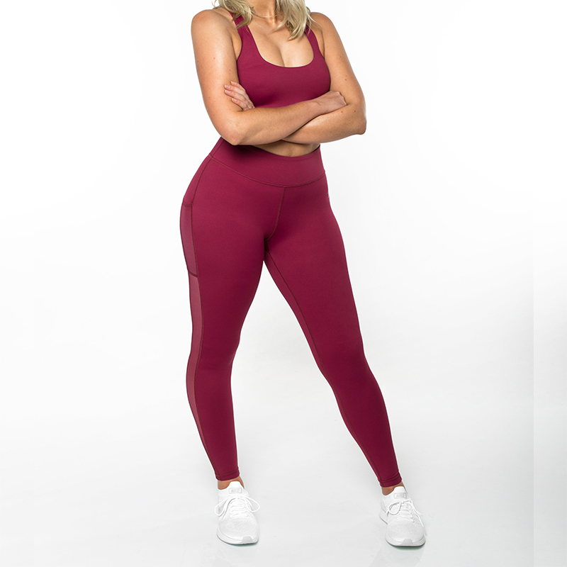 OEM Private Label Tight Mesh Sexy Yoga Pant Recycled, Custom Wholesale Yoga Pants Legging