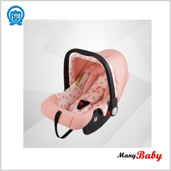 Pink moses basket style safety baby car seat/chair(just for little kids)