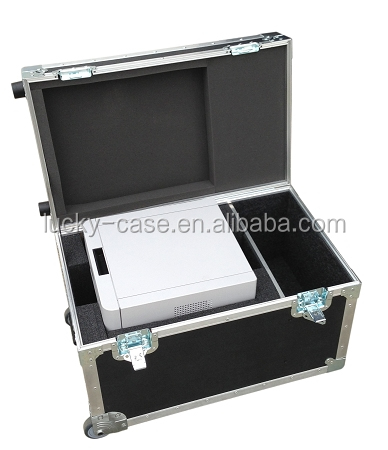 Custom ATA case for Printers Flight Case with Heavy Duty Caster Wheels 30x18x20cm