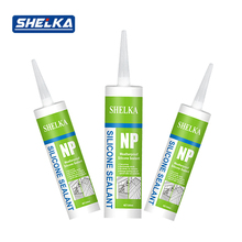 Fire resistant window glass silicone sealant for aluminum