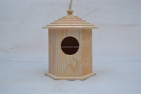 2013 Hot Wooden Crafts Wooden Factory Wooden Pet Houses Wooden Birds House
