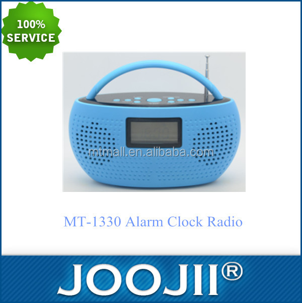 New model portable radio,retro alarm clock radio