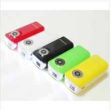 small size USB charger for LG,nokia, magnum power bank with torch
