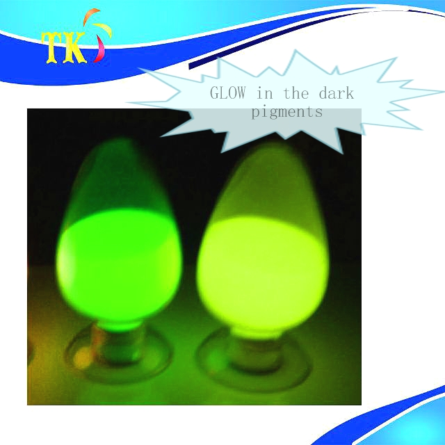 glow in the dark pigment/glow powder for paints,nail polish,plastic etc