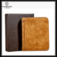 RFID blocking thermo pu leather wallets against unwanted scans customized logo made in China