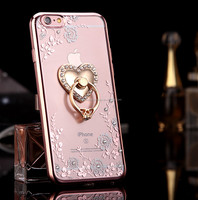 New arrival fashion TPU diamond case for Iphone
