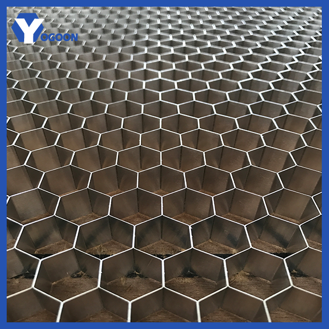 construction materials thermal break honeycomb composite aluminum core