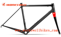 Wholesale 700c specialized carbon road bike frame . Asia road bike only 780g