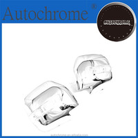 Chrome car trim accent styling gift, Chrome Side Mirror Cover with LED Side Blinker- for Mitsubishi Pajero / Montero 91-99
