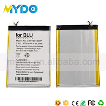 China manufacture smallest full capactiy cell phone battery
