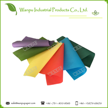 colored parchment paper wrapping paper roll and sheet with 100% virgin wood pulp