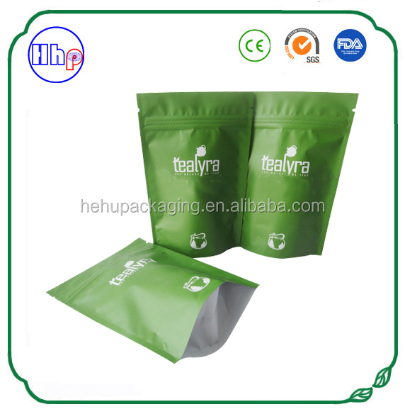 China factory moisture proof custom printed big aluminum foil plastic bag zip