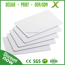 High Quality~ Free design PVC VIP card/ PVC Business card/ blank white card in ISO 7810 standard