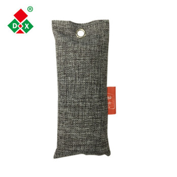 Eco-friendly 75g air purifier bags bamboo activated charcoal