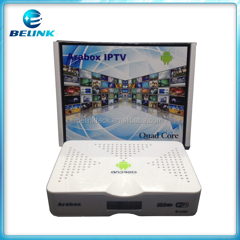 2016 best Arabox free TV channels no monthly fee Arabic IPTV box