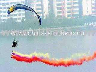 Aviation color smoke, Aviation smoke, Aviation performance color smoke, Aviation performance smoke