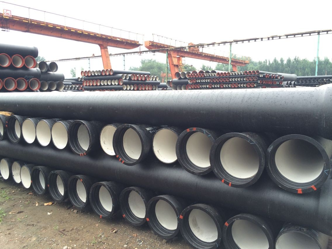 ductile iron black iron pipe dimensions low price good quality
