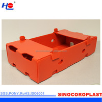 Foldable Waterproof Fruits Plastic Crates