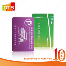 Customized MIFARE 13.56Mhz RFID Paper Card