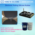 Addition cure silicone for encapsulation and potting