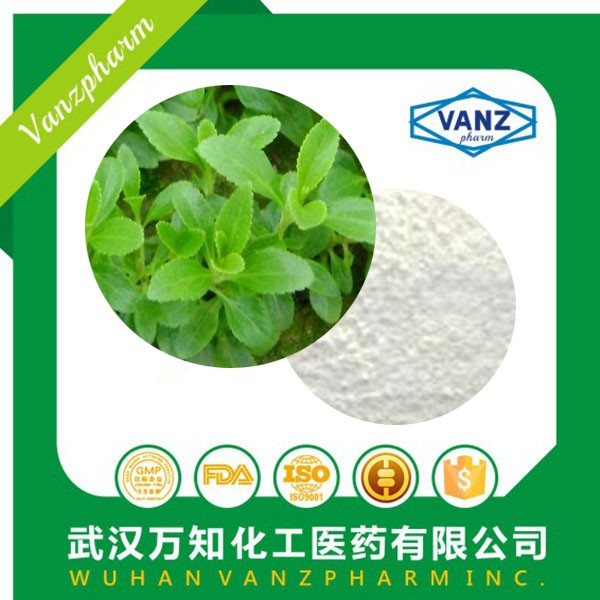 High quality sugar stevia leaf P.E 12%