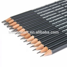 Professional art sketch black lead pencil for office and school drawing pencils