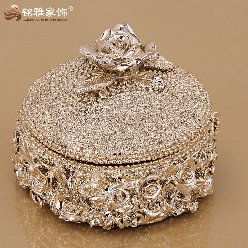 high quality luxury design jewelry storage box wedding decoration