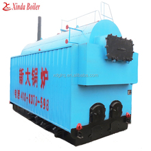 Biomass burn and manual style steam boiler for home usage